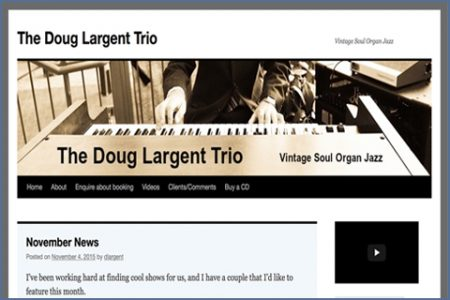 THE DOUG LARGENT TRIO WEBSITE
