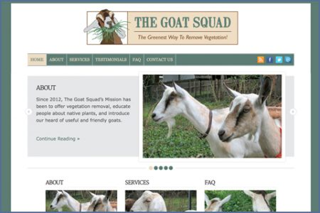 GOAT SQUAD WEBSITE