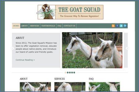 GOAT SQUAD WEBSITE