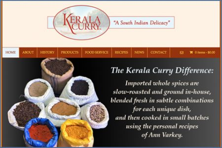 KERALA CURRY WEBSITE