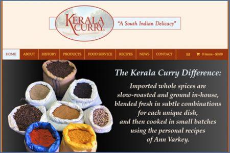 KERALA CURRY WEBSITE