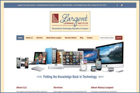 LARGENT LEARNING INSTITUTE WEBSITE