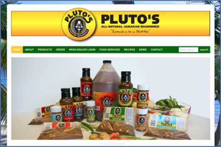 PLUTO'S, INC. WEBSITE
