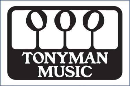 TONYMAN MUSIC LOGO