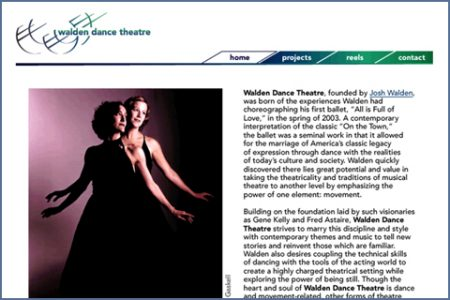 WALDEN DANCE THEATRE WEBSITE