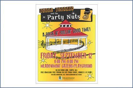 PARTY NUTS POSTER