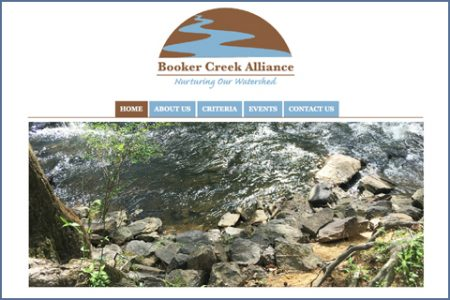 BOOKER CREEK WATERSHED ALLIANCE WEBSITE
